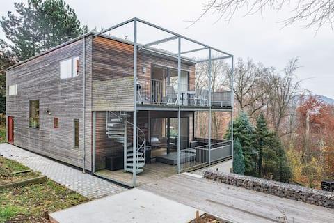 Prachtvolles Ferienhaus in Freital mit Sauna