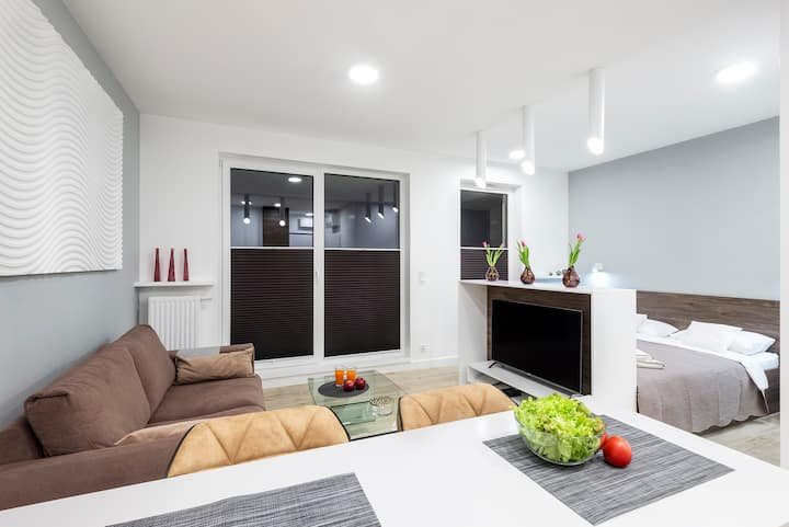 Apartament Luxury Miedzyborska , blisko centrum