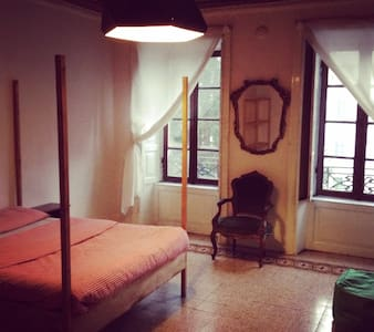 Amazing room A w/airport Transfer - Bergamo - House