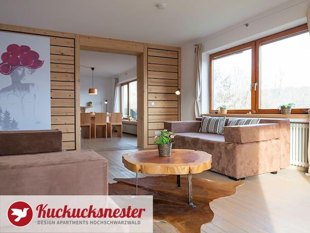 Kuckucksnester Friedenweiler, (Friedenweiler), Kuckucksnest Wohnung EG