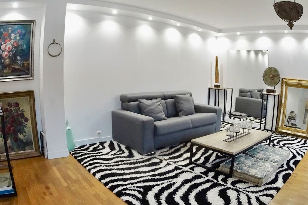 Salon Journée / Living Room Day Time / 客厅白天