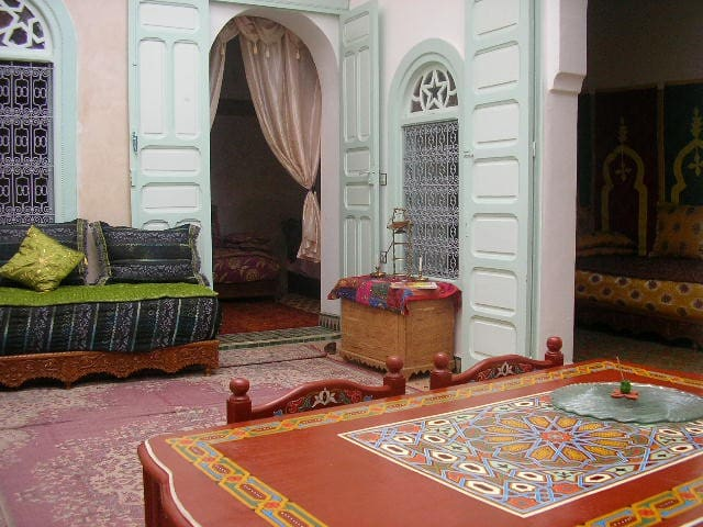 maison traditionnelle - Meknes