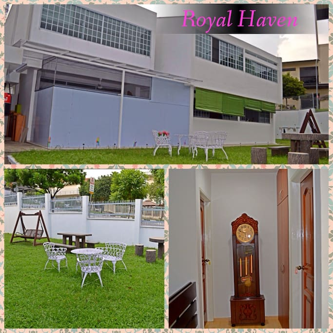 Royal Haven: your-home-away-from-home and your castle! Garden View!