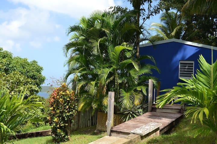 Azur : spa privé et jolie vue mer - Bas Vent - Talo