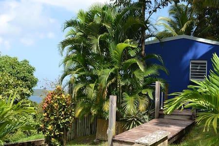 Azur : spa privé et jolie vue mer - Bas Vent