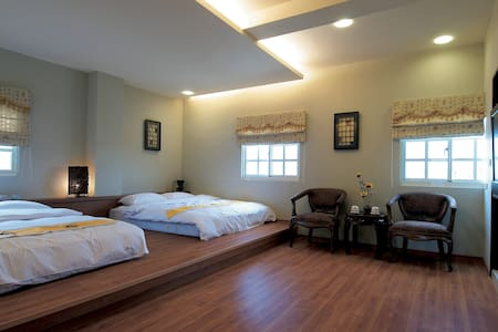鹿港住宿  #401細數寧靜四人房 - Lugang Township - 家庭式旅館