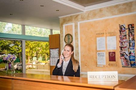 Уютный номер с собственной ванной в отеле - Chabarovsk