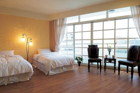 LKBNB  #305復古歐風二人房 - Lugang Township - Bed & Breakfast