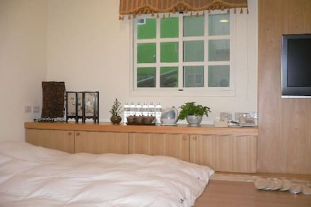 LKBNB  #301竹之蟬和風六人房 - Lugang Township - Bed & Breakfast