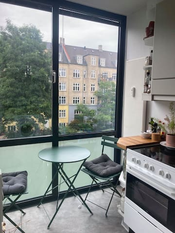 Cozy and fresh apartment in Copenhagen <3