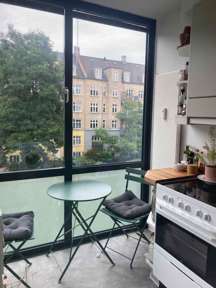 Cozy and fresh apartment in Copenhagen <3