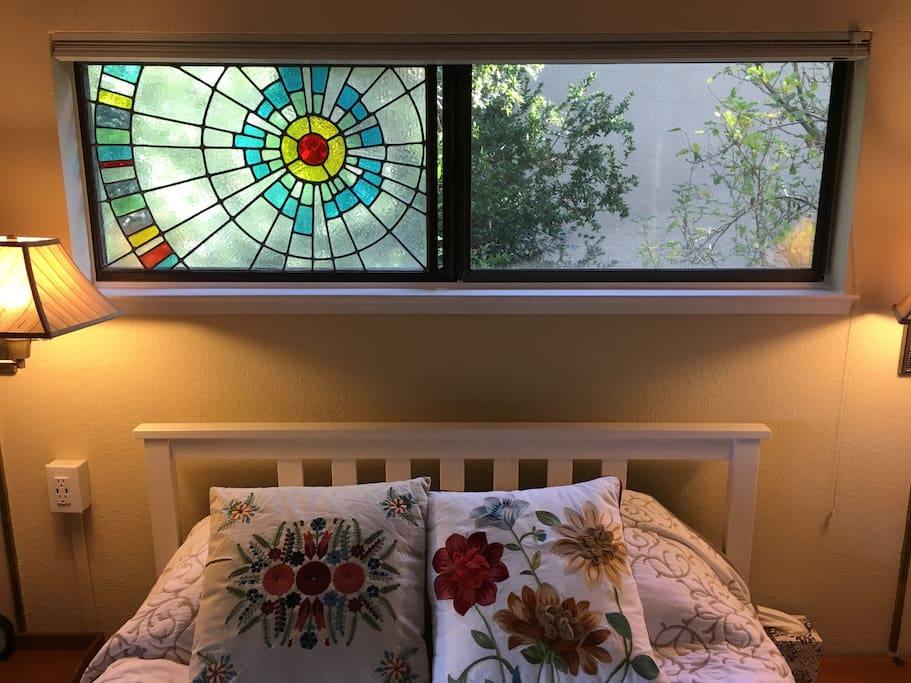 Homemade stained glass