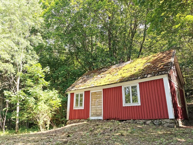 Rustic house in forest close to LAKE Mien and SEA!