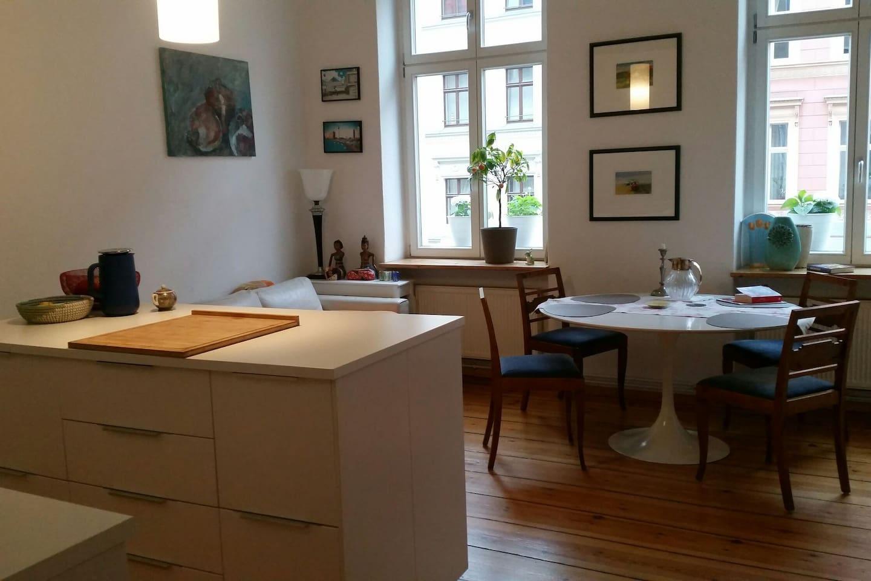 Wohnküche Living kitchen