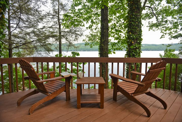 Seneca Lakefront Cabin & Beach Cottage