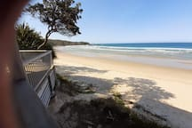 Short walk to Diggers Beach