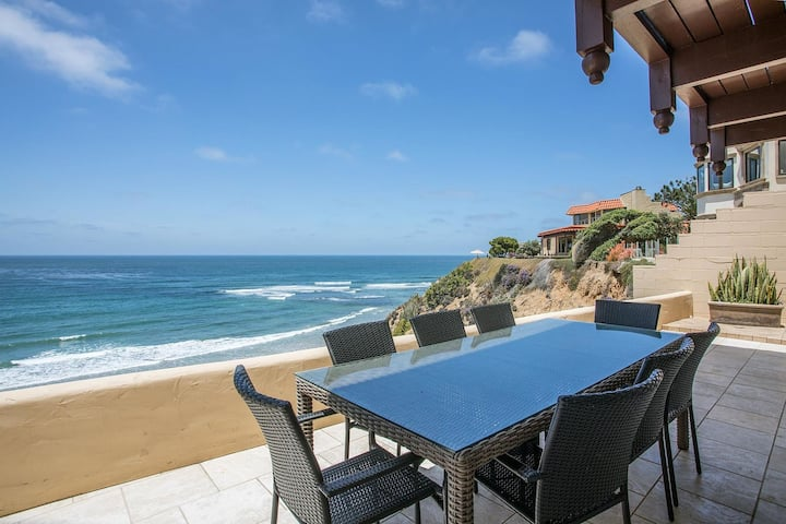 The Oceanfront Whispering Waves Solana Beach Home