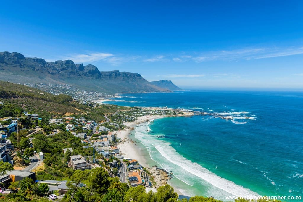 Clifton & Camps Bay Aerial Overview