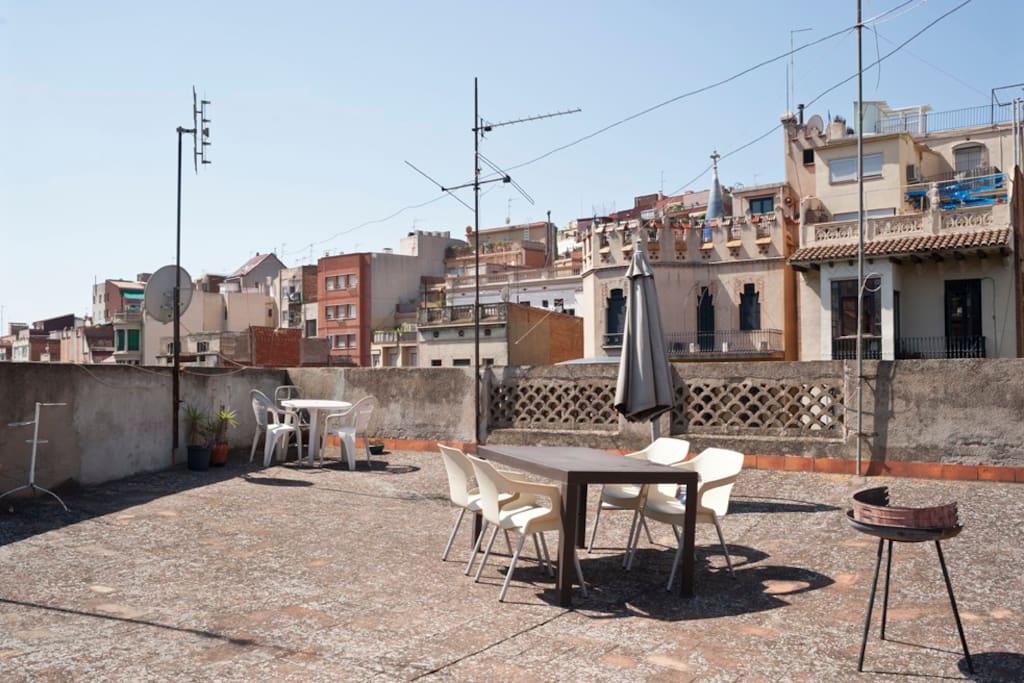 terraza comunitaria