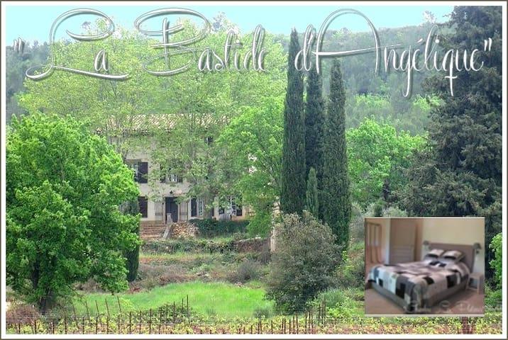 La bastide d'Angélique chambre des vignes - Le Val - Bed & Breakfast