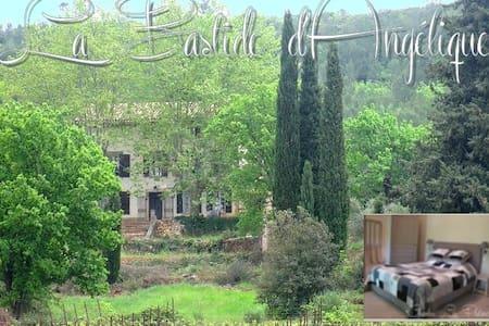La bastide d'Angélique chambre des vignes - Le Val - Aamiaismajoitus