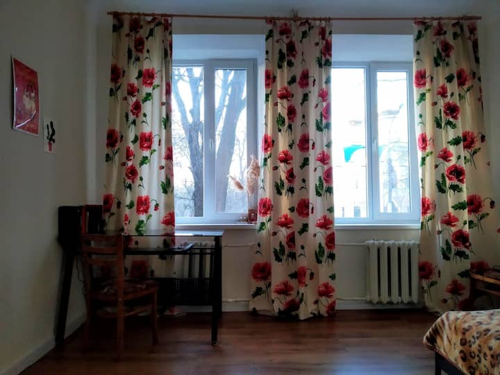 Small apartment near the railway station