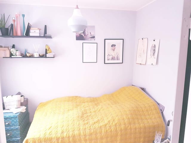 Room for long term rent, 20 min from Stockholm C.