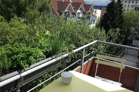 Helle Maisonette-Wohnung nahe des Seerheins - Konstanz - Leilighet