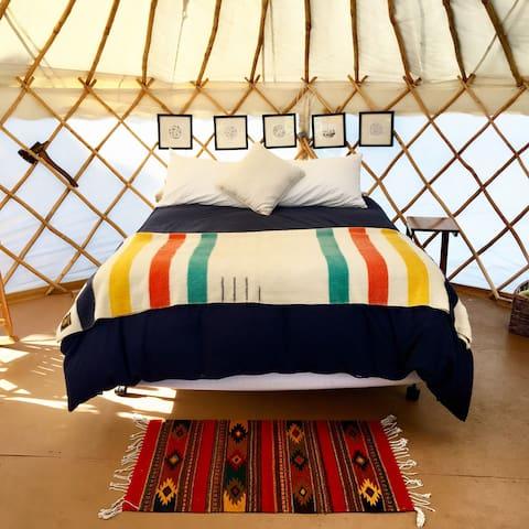 Dreamy Yurt on private island