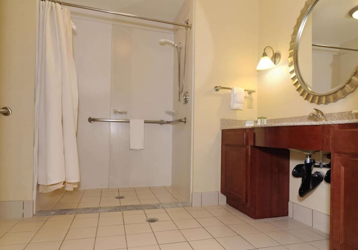 Handsome Suite Double Bed At Dulles Airport