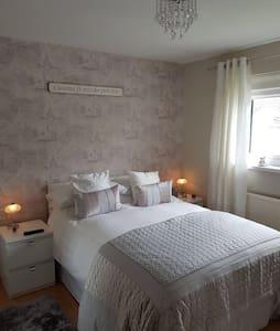 Modern spacious double bedroom (room 2)