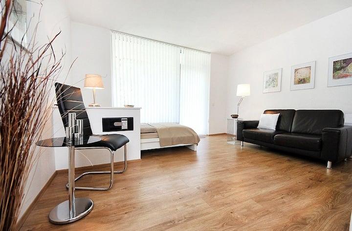 Stylish apartment direcly at fair Düsseldorf