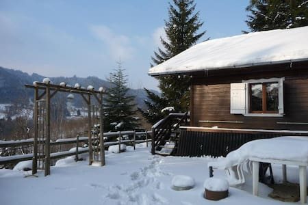 Small cabin in the wood - Boëge - Chalet