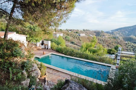 Countryhouse with pool and seaview - Cómpeta - Villa