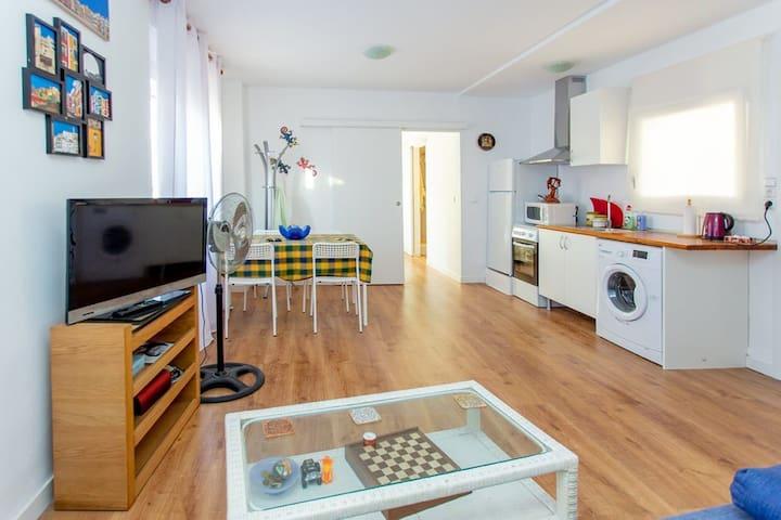 Apartamento con terraza en el centro de Dénia