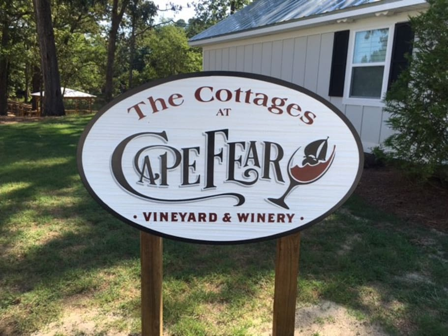 Welcome to the Cottages at Cape Fear Vineyard and Winery
