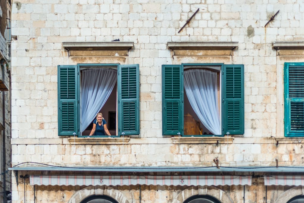 Apartment ''Nono'' in old town Dubrovnik on main street Placa/Stradun ...