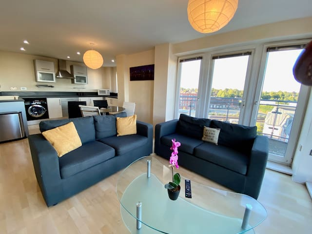 Basingstoke Central Spacious 2 Bedroom Apartment