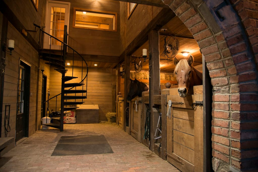 spiral aisle romantic private equestrian suite apartments for rent in