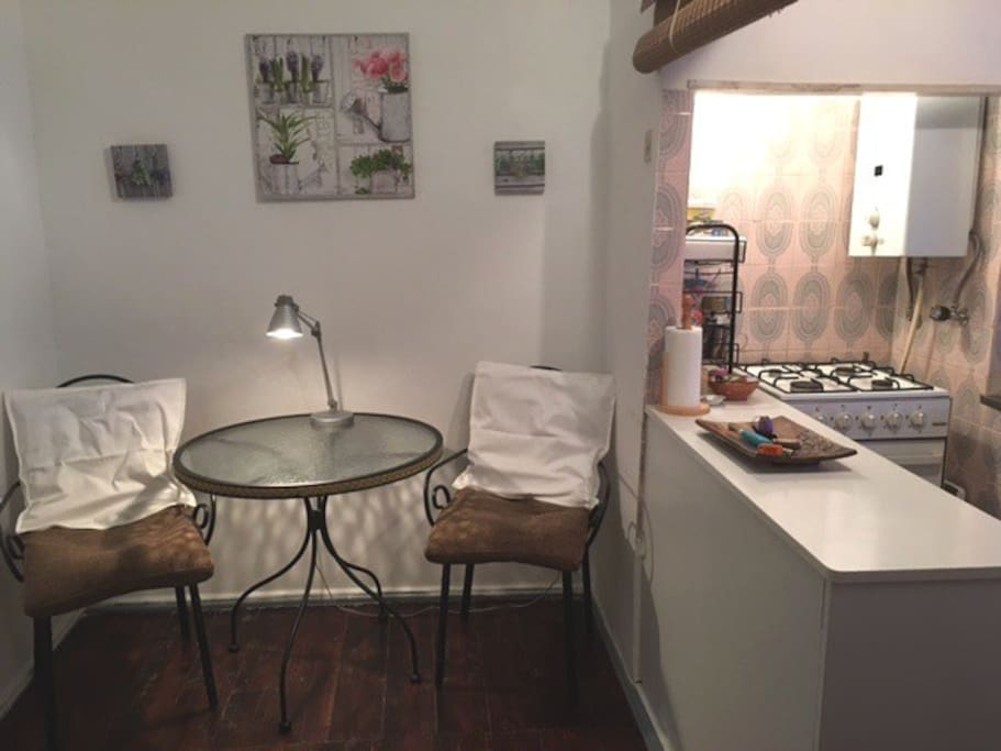 sala + kitchenette