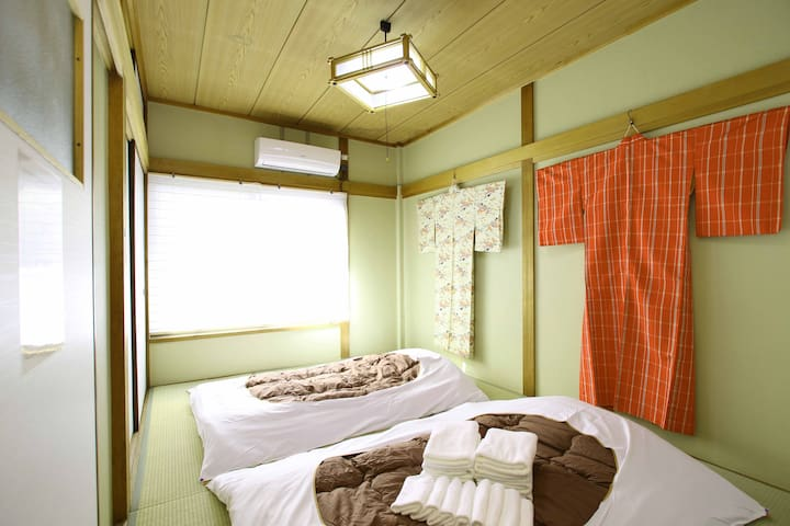 Masaru House-Cozy&Traditional/11mins-Namba#35