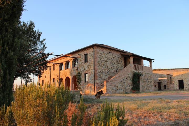 Agri Relais FATTORIA AL MELETO - Montalcino - House