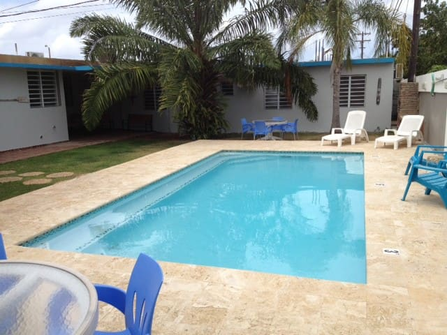 Beautiful pool area, private bbq and terrace. Extra bathroom in the pool gazebo.