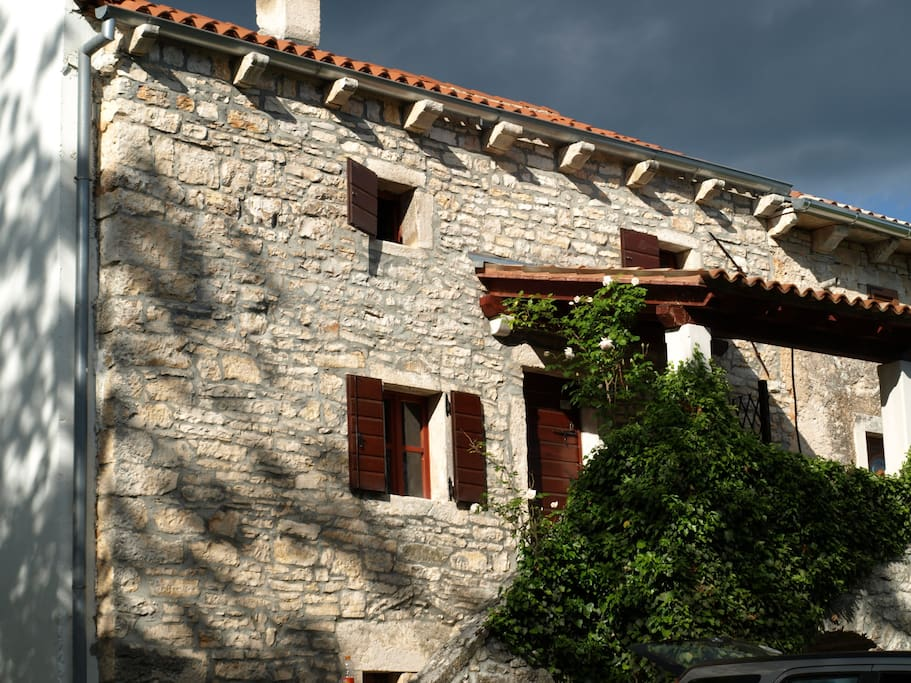 Old Istrian stone house