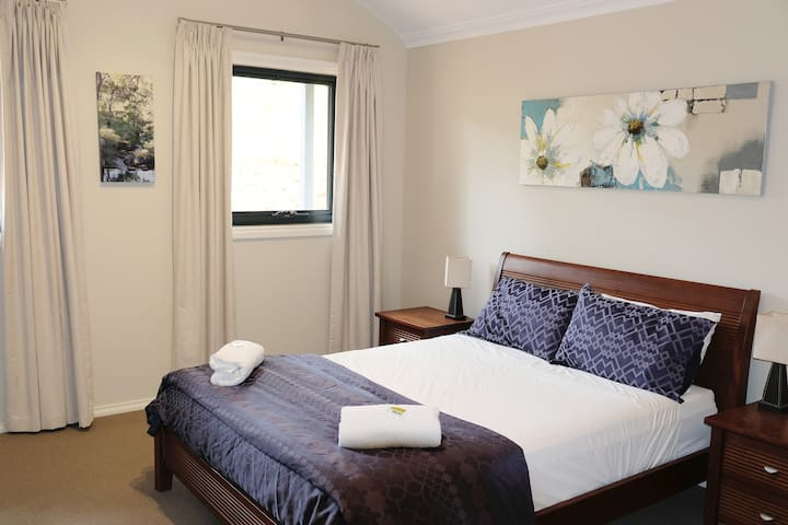 Bedroom 1 is very spacious with walk-in robe and its own ensuite