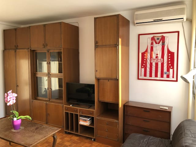 Sunny apartment in heart of New Belgrade