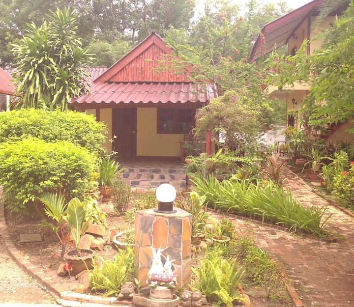 Bungalow au jardin