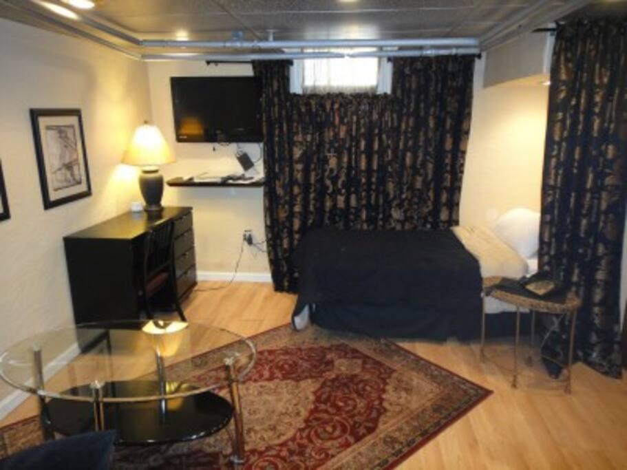 Living/Bedroom Combo