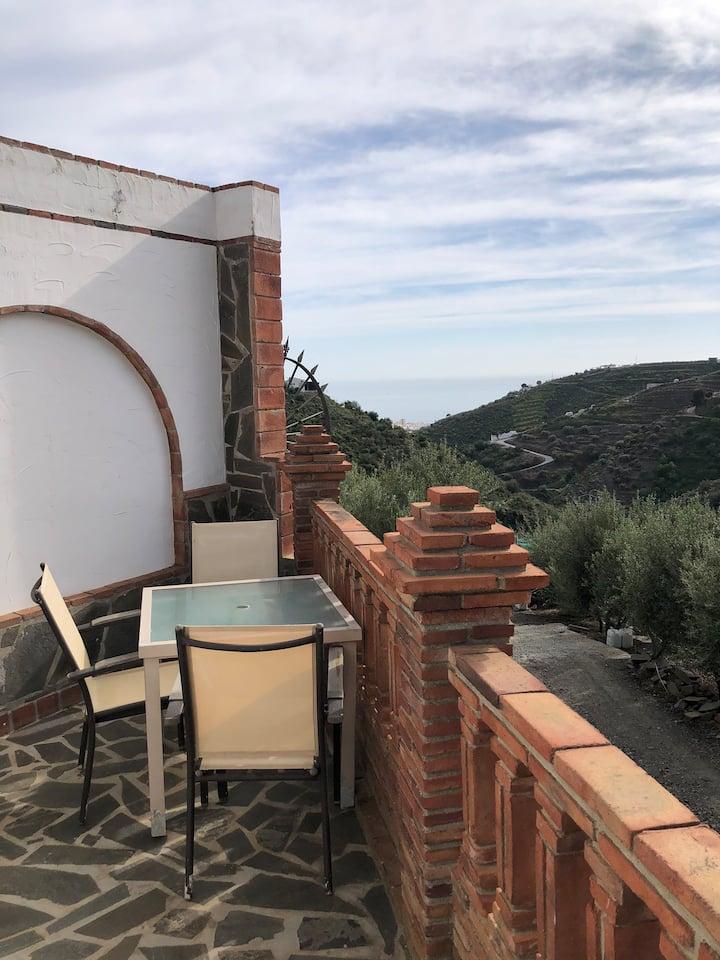 Casa de Campo con vistas al mar y tranquilidad