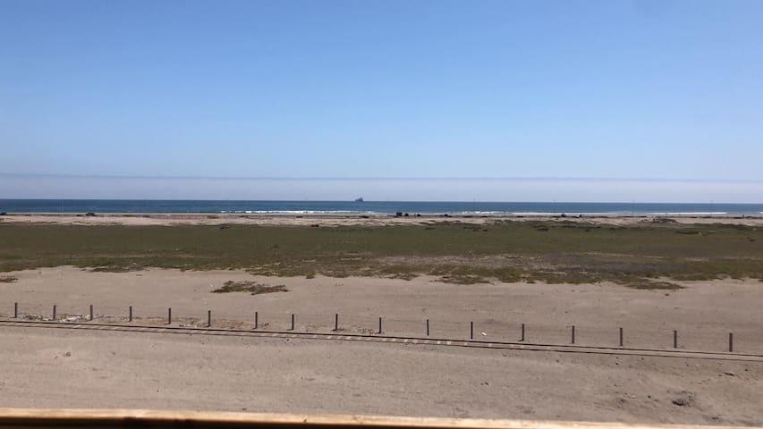 Depto vista al mar, max 5  pers